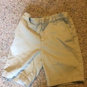 Khaki shorts under armour